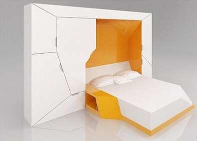 استفادهی بهینه از فضا با تختخوابهای تاشو