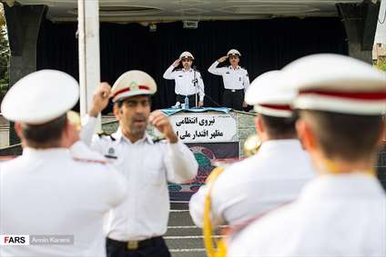 رزمایش ترافیک اربعین حسینی