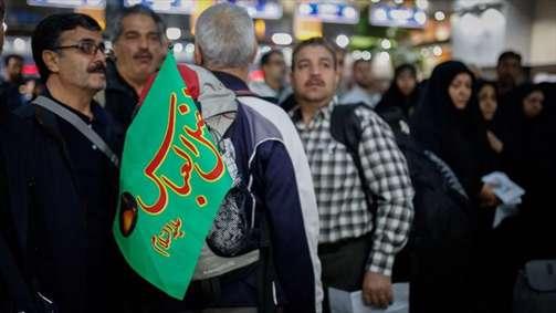 اعزام اولین گروه زائرین اربعین از راه آهن تهران