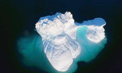 تصاویر هوایی از کوههای یخی که تاکنون ندیدهاید