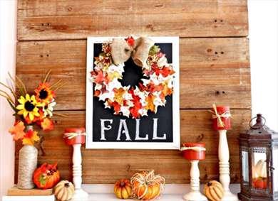 چیدمان خانه با رنگ و بوی پاییزی