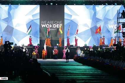 گزارش تصویری از مراسم اختتامیه بازیهای پاراآسیایی 2018 اندونزی