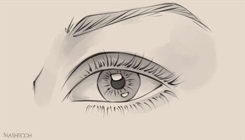 چطور چشم طراحی کنیم؟