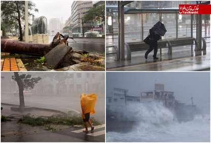 طوفان «ترامی» در جنوب ژاپن