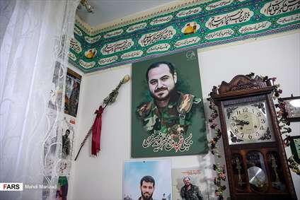 دیدار با خانواده مدافع حرم شهید نوید صفری