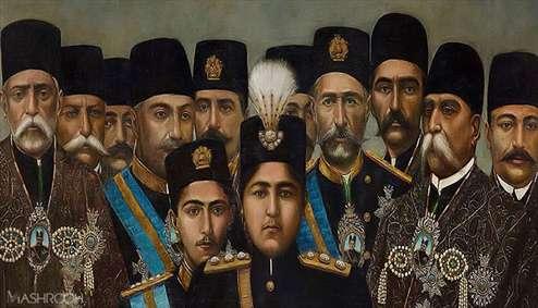 تابلوهای قاجاری در موزه های گرجستان