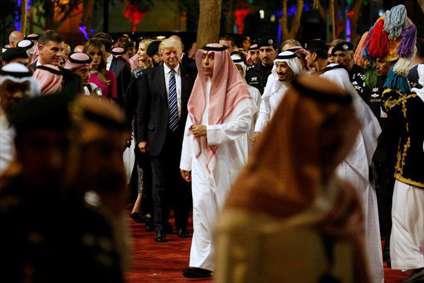 ترامپ در دامن سعودی
