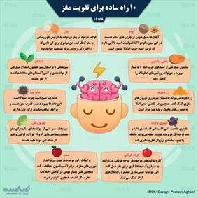 ۱۰ راه ساده برای تقویت مغز