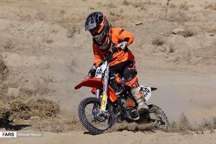 مسابقات موتور کراس قهرمانی کشور در همدان