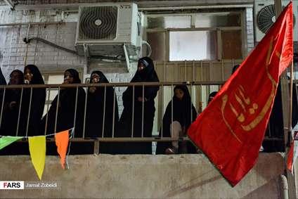 مراسم عمامه گذاری طلاب مدرسه علمیه امام خامنهای اهواز
