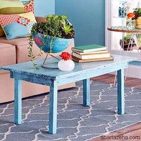 روش رنگ آمیزی میز به سبک قدیمی