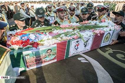 تشییع پیکر شهید امنیت حسن پاینده
