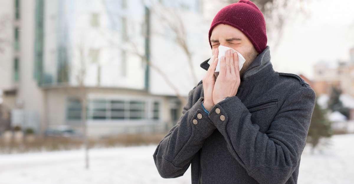 تاثیر سرما بر بدن