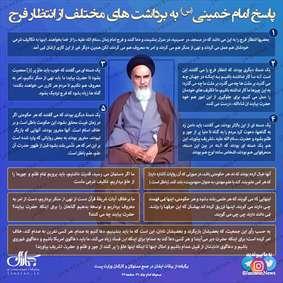 پاسخ امام خمینی(س) به برداشت های مختلف از انتظار فرج