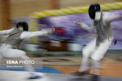 مسابقات المپیاد استعدادهای برتر شمشیربازی در مشهد