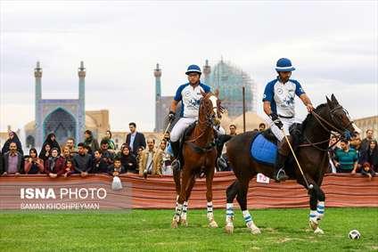 مسابقات چوگان در میدان نقش جهان به مناسبت روز اصفهان