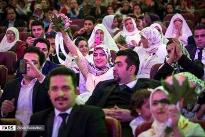 جشن ازدواج ۱۱۰زوج معلول