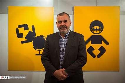 نمایشگاه کارتون و گرافیک محمدحسین نیرومند