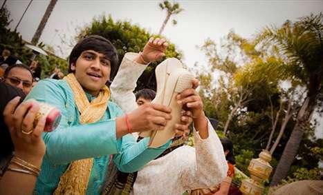 رسم عجیب عروسی در هند