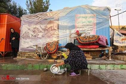 مردم کرمانشاه یکسال بعد از زلزله