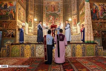 آئین آغاز سال ۲۰۱۹ میلادی در کلیسا وانک