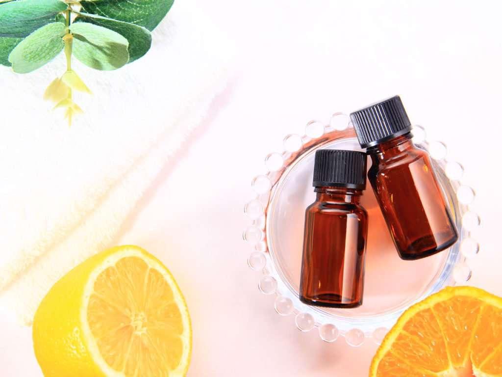 ترکیب روغن لیمو و درخت چای