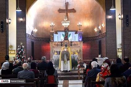 مراسم میلاد عیسی ابن مریم(ع) در اهواز