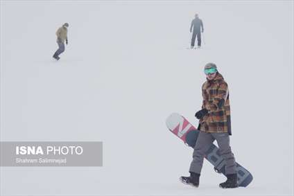 اسکی در مه