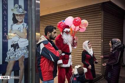 اولین کریسمس آرام دمشق پس از 7 سال جنگ