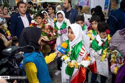 بازگشت کودکان هوشمند ایرانی از مسابقات محاسبات ذهنی مالزی
