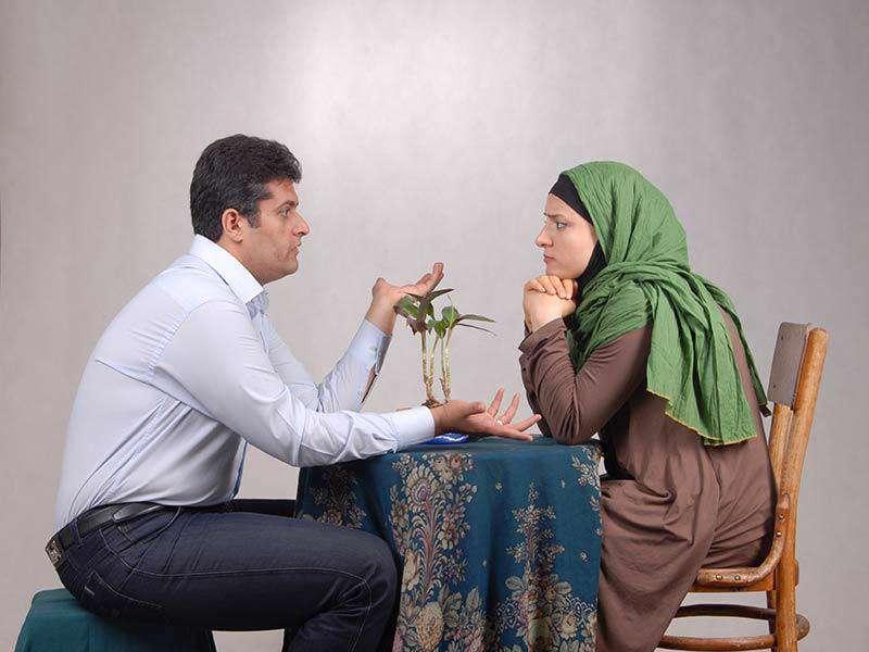 جواب دادن، رابطه عاطفی،مسائل مالی، صحبت کردن، درامد، شریک زندگی، خانواده ایرانی، عشاق موفق