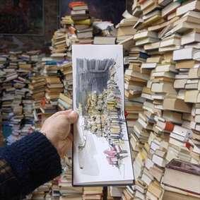 نقاشی کتاب