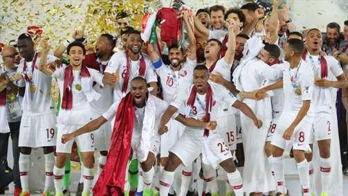 قهرمانی تیم ملی فوتبال قطر