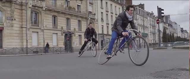 دوچرخهای که میچرخد!