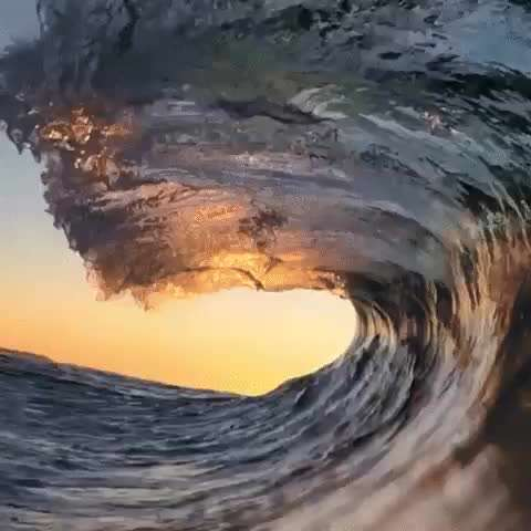 موج زیبای دریا