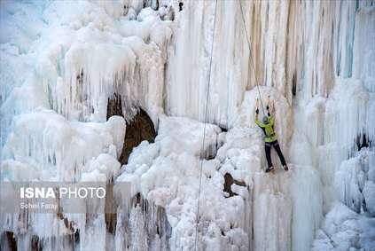 آبشار یخی «سولی»