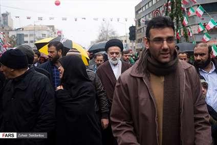 حضور شخصیت ها در راهپیمایی ۲۲ بهمن