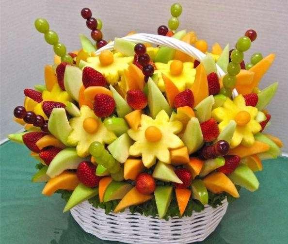 میوه به سخ کشیده شده، سیخ میوه، میوه