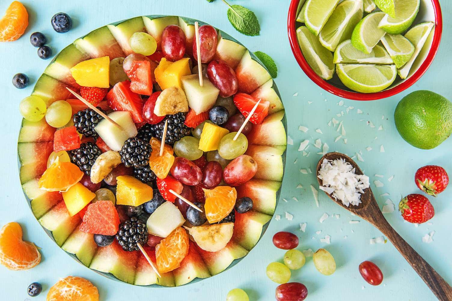 پذیرایی، میوه، لاکچری، مهمان
