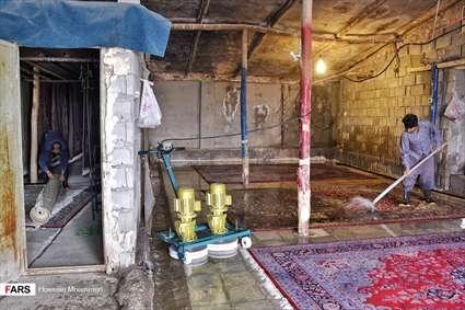 رونق قالیشوییهای بجنورد در آستانه نوروز