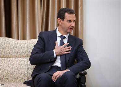 بشار السد رییس جمهور سوریه