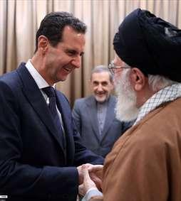 دیدار رئیس جمهور سوریه با رهبر معظم انقلاب