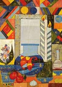 نقاشی نوگرا از هفت سین