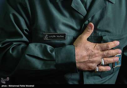 تشییع پیکر شهید مدافع حرم احمد جلالی نسب در قم