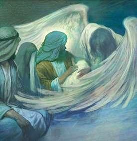 نقاشی فطرس ملک