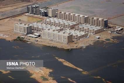 خوزستان در محاصره آب