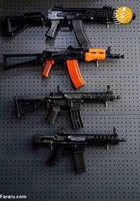 فروش قانونی اسلحه در نجف