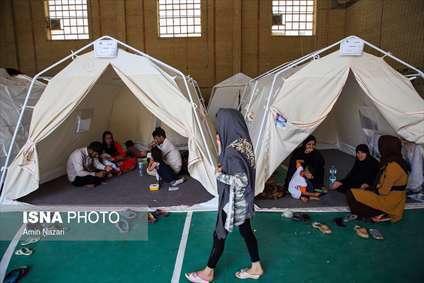 کمپ سیل زدگان حمیدیه