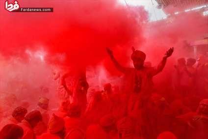 جشن رنگ هولی، یک جشنواره عجیب در هند