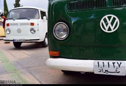 هفتمین گردهمایی خودروهای کلاسیک فولکس